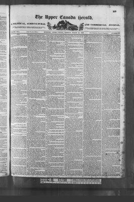 Upper Canada Herald (Kingston1819), 20 Mar 1838