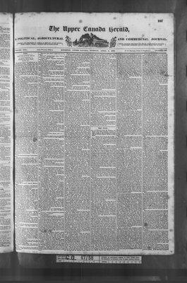 Upper Canada Herald (Kingston1819), 3 Apr 1838