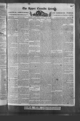 Upper Canada Herald (Kingston1819), 19 Jun 1838
