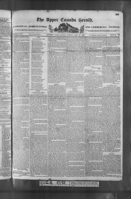 Upper Canada Herald (Kingston1819), 26 Jun 1838
