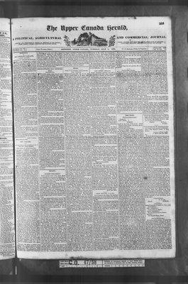Upper Canada Herald (Kingston1819), 3 Jul 1838