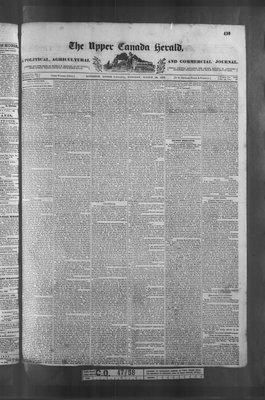 Upper Canada Herald (Kingston1819), 19 Mar 1839