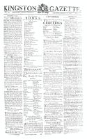 Kingston Gazette, 18 August 1812
