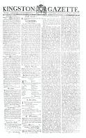 Kingston Gazette, 26 September 1812