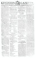 Kingston Gazette, 24 November 1812