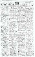 Kingston Gazette, 12 September 1815