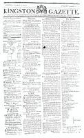 Kingston Gazette, 26 September 1815