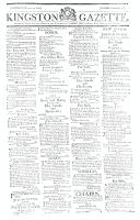 Kingston Gazette, 23 March 1816