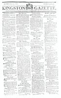 Kingston Gazette, 20 April 1816