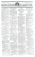 Kingston Gazette, 18 May 1816