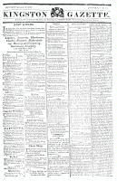 Kingston Gazette, 14 September 1816