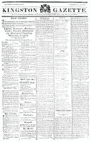 Kingston Gazette, 12 October 1816