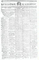 Kingston Gazette, 30 November 1816