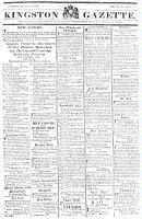 Kingston Gazette, 21 December 1816