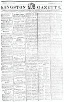 Kingston Gazette, 19 May 1818