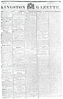 Kingston Gazette, 26 May 1818