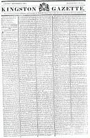 Kingston Gazette, 8 September 1818