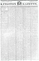Kingston Gazette, 15 September 1818