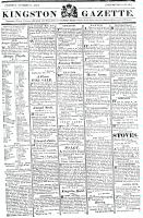 Kingston Gazette, 13 October 1818
