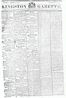 Kingston Gazette, 17 November 1818