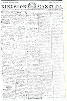 Kingston Gazette, 29 December 1818