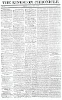 Kingston Chronicle, 2 April 1819