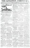 Kingston Chronicle, 7 May 1819