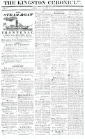 Kingston Chronicle, 14 May 1819