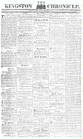 Kingston Chronicle, 15 October 1819
