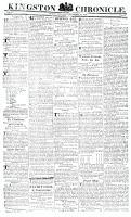 Kingston Chronicle, 29 December 1820