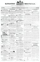 Kingston Chronicle, 3 November 1826
