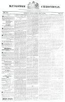 Kingston Chronicle (Kingston, ON), May 4, 1827