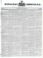 Kingston Chronicle, 26 July 1828