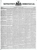 Kingston Chronicle (Kingston, ON1819), August 2, 1828