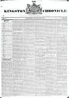 Kingston Chronicle (Kingston, ON1819), August 23, 1828