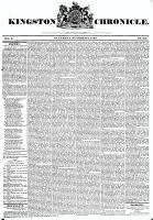 Kingston Chronicle, 4 October 1828