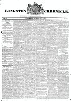 Kingston Chronicle, 11 October 1828