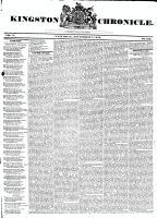 Kingston Chronicle (Kingston, ON1819), November 8, 1828