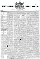 Kingston Chronicle (Kingston, ON1819), February 21, 1829