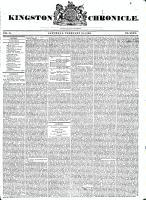 Kingston Chronicle (Kingston, ON1819), February 28, 1829