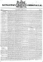 Kingston Chronicle (Kingston, ON1819), April 4, 1829