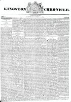 Kingston Chronicle (Kingston, ON1819), April 18, 1829