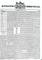 Kingston Chronicle (Kingston, ON1819), July 11, 1829