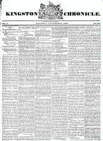 Kingston Chronicle (Kingston, ON1819), November 7, 1829