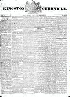 Kingston Chronicle (Kingston, ON1819), November 28, 1829