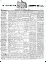 Kingston Chronicle, 12 December 1829