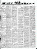 Kingston Chronicle, 23 January 1830