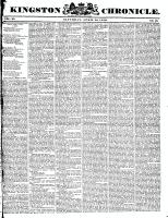 Kingston Chronicle, 24 April 1830
