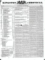 Kingston Chronicle, 29 May 1830