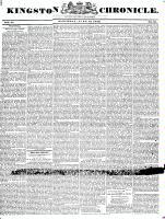 Kingston Chronicle (Kingston, ON1819), June 12, 1830